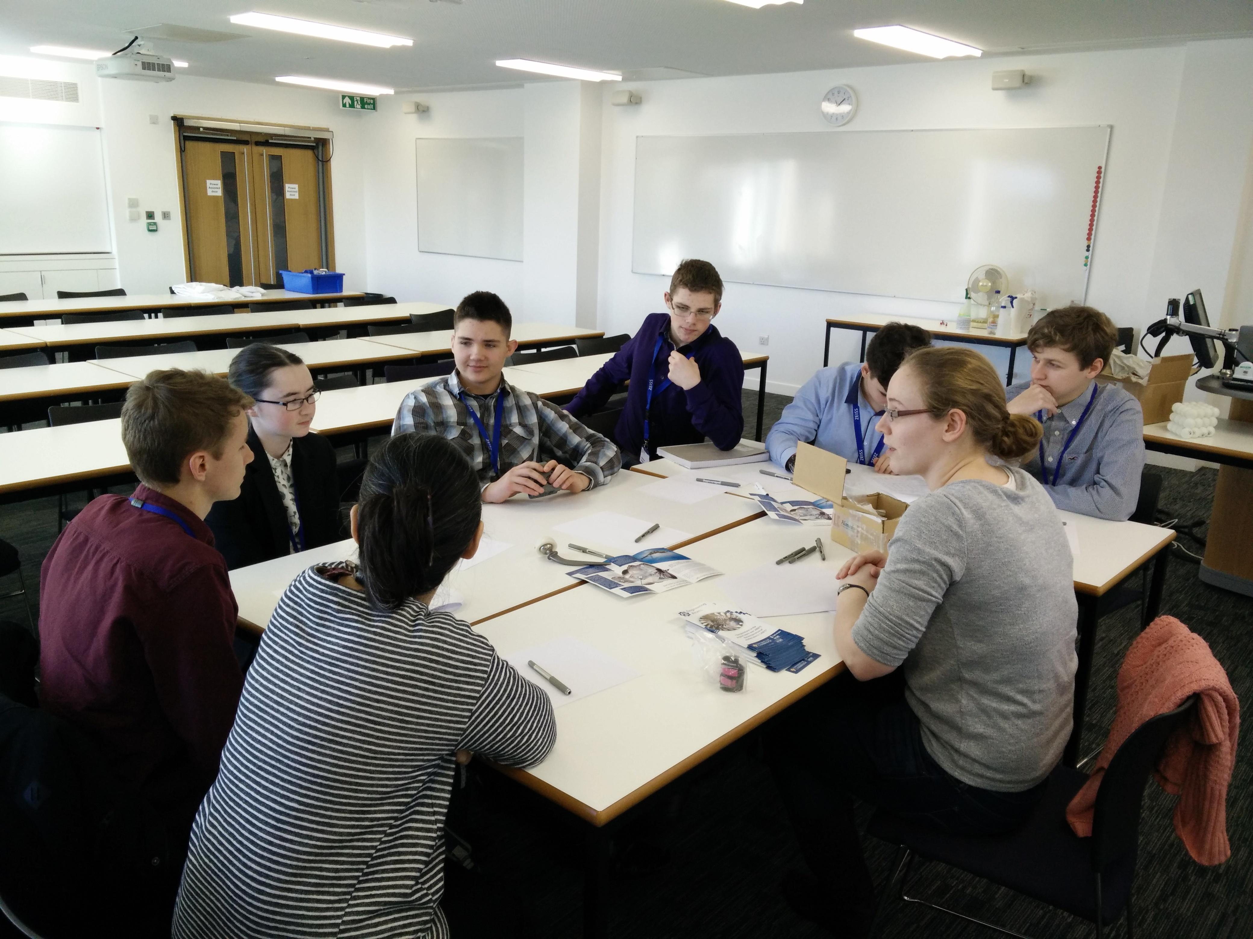 Cambridge Academy for Science and Technology Visit